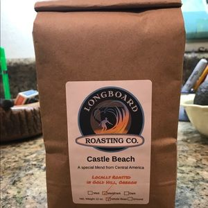Freshly roasted coffee from organic beans